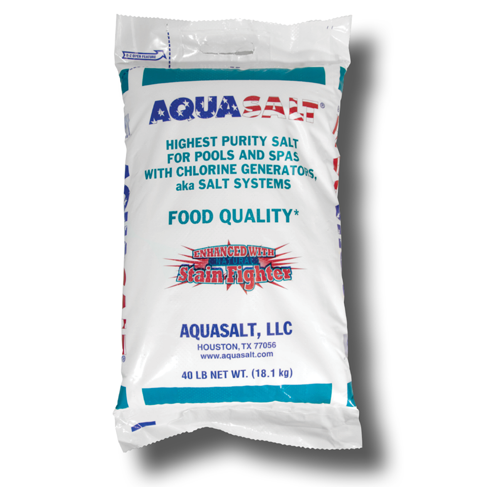 Aquasalt - 40 LB - Pool Baron