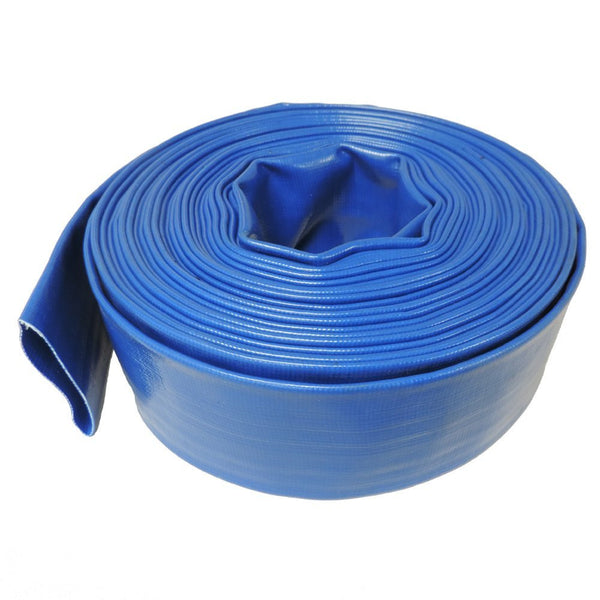 "Commercial Grade 2"" x 50' Swimming Pool Backwash Hose 11202-50 - Pool Baron"