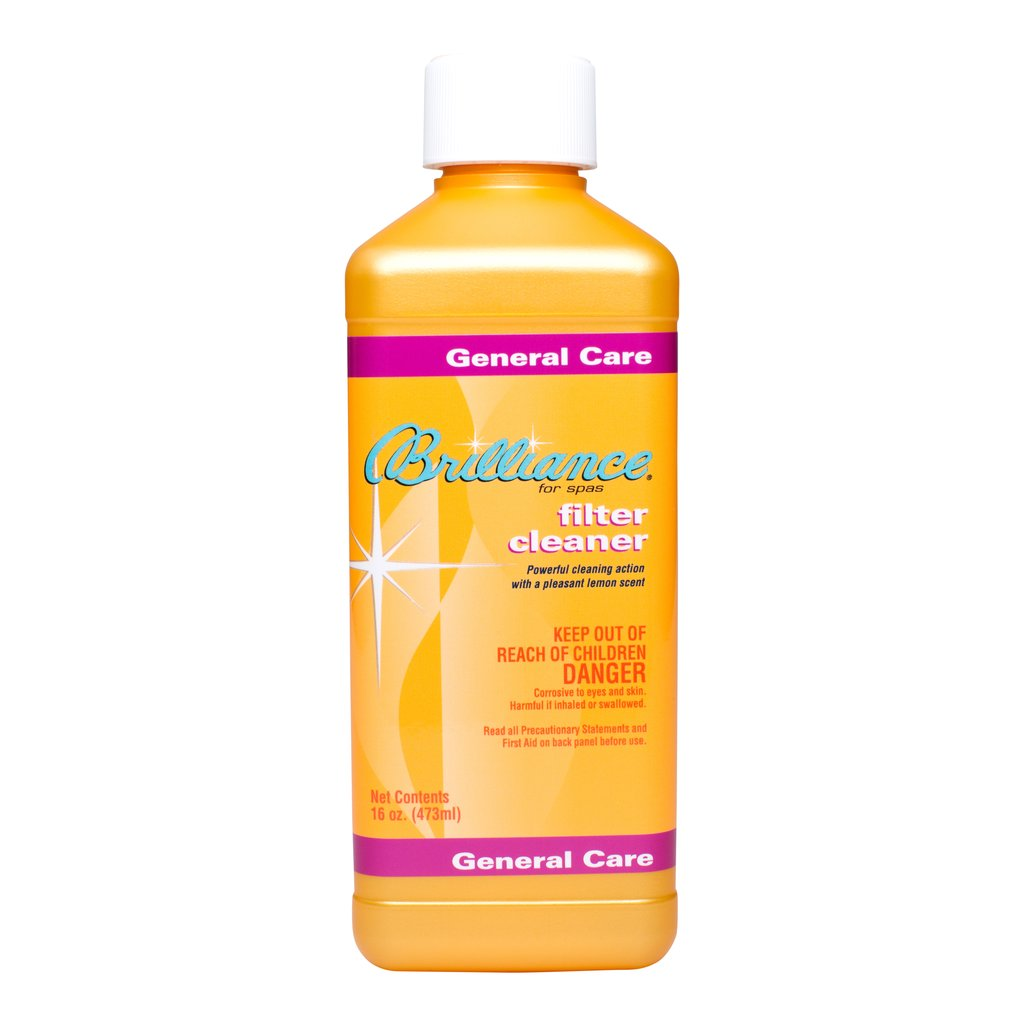 Brilliance Filter Cleaner - 16 OZ - Pool Baron