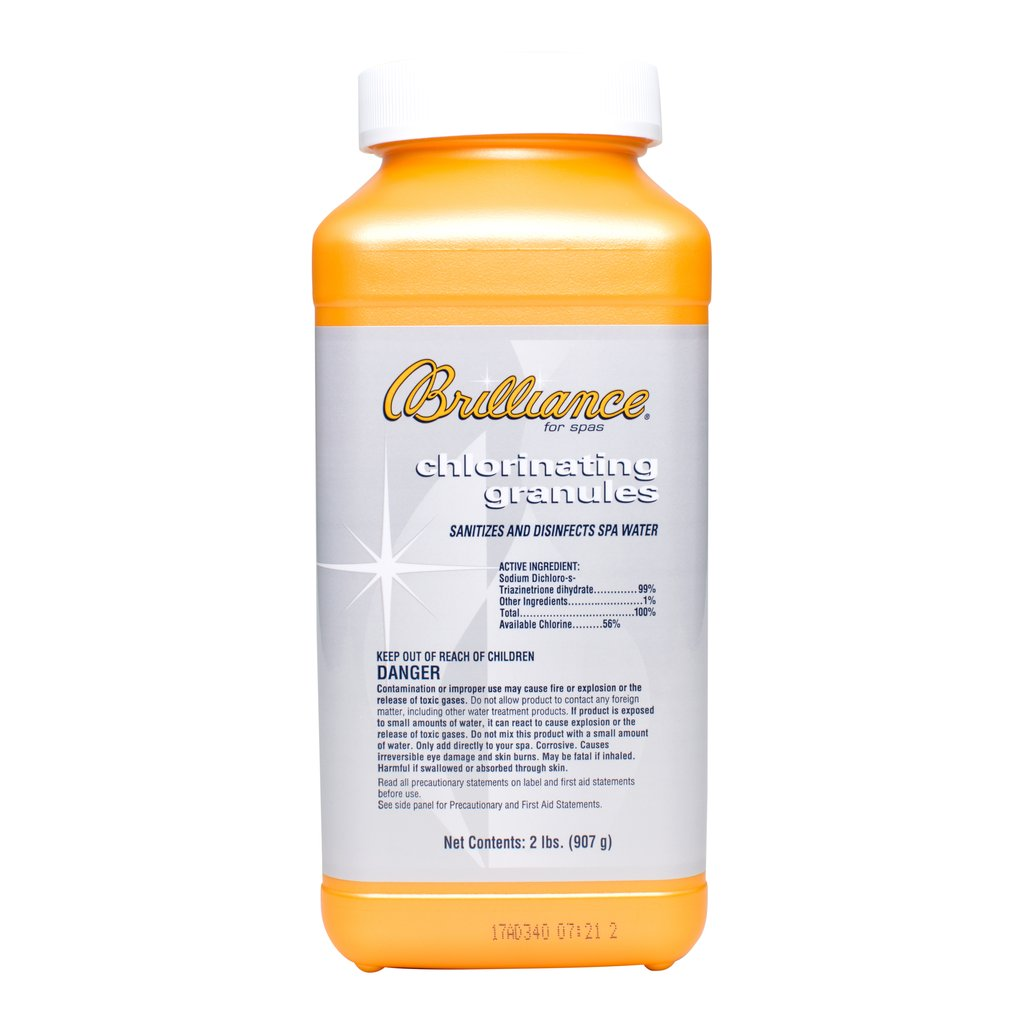 Brilliance Chlorinating Granules - 2 LB - Pool Baron