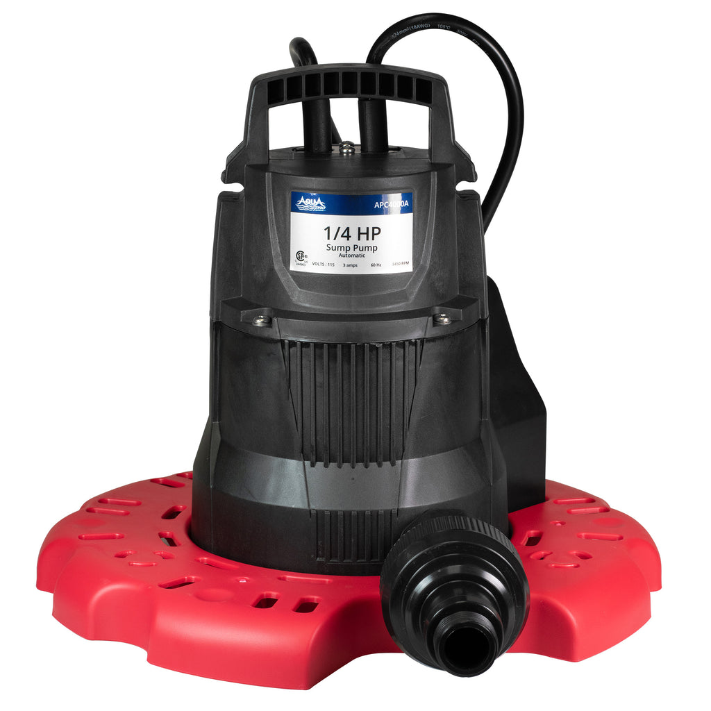 AquaPro Cover Pump - Automatic - 3000 GPH - Pool Baron