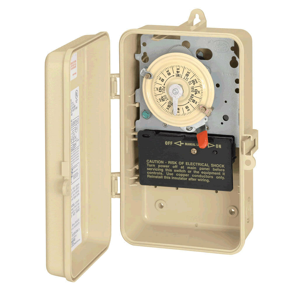 Intermatic T104P3 24 Hour Time Clock - 220V - Pool Baron