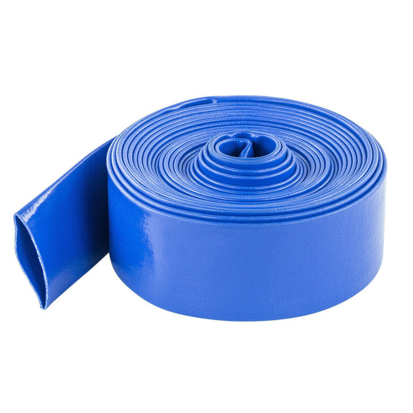 "Swimming Pool Commercial Grade Backwash Discharge Hose 1.5"" x 100' ft - Pool Baron"