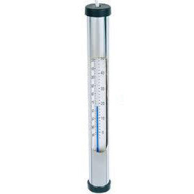 Swimming Pool & Spa Hot Tub Chromed Brass Thermometer w/ String - Pool Baron