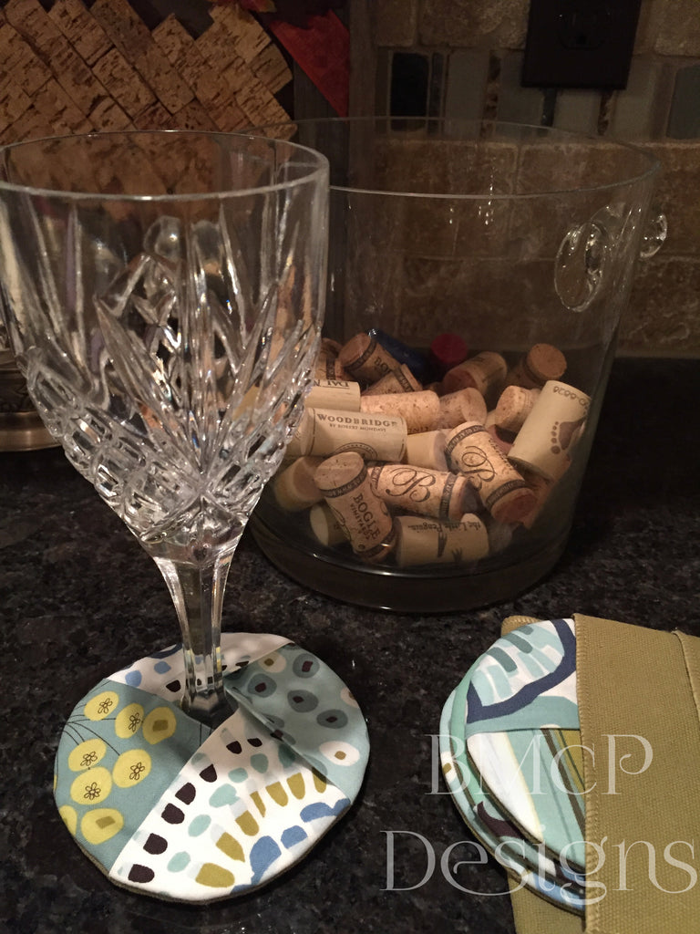 How to Make Footed Glass Coasters