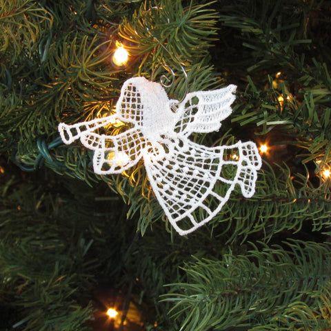 Freestanding Lace Ornaments