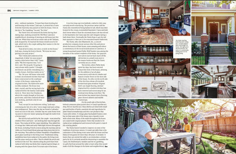 ReLive apothecary featured in historic renovation article in Lawrence Magazine