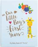 Baby Memory Book for Boys - Jungle Theme | Ronica