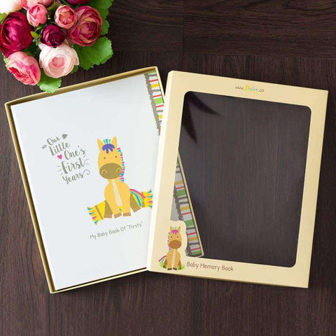 Baby Memory Book For Boys & Girls - Farm Theme | Ronica - Memory Book