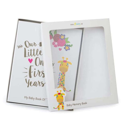 Baby Memory Book For Boys & Girls - Jungle Theme | Ronica - Memory Book