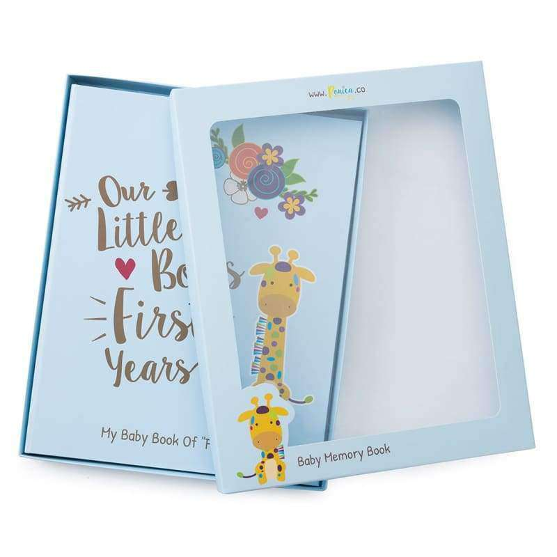 07b018db4ad33 Baby Memory Book for Boys - Jungle Theme | Ronica