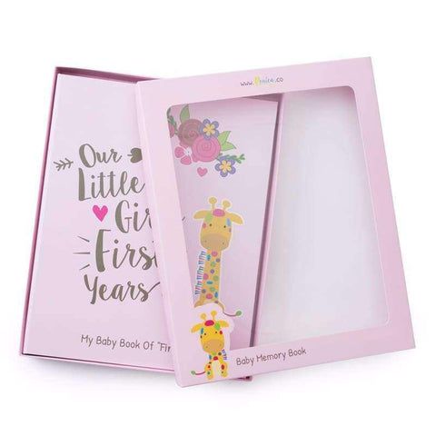 Baby Memory Book For Girls - Jungle Theme | Ronica - Memory Book