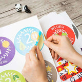 Pack Of 32 Baby Boy Stickers - Holiday Theme | Ronica - Stickers
