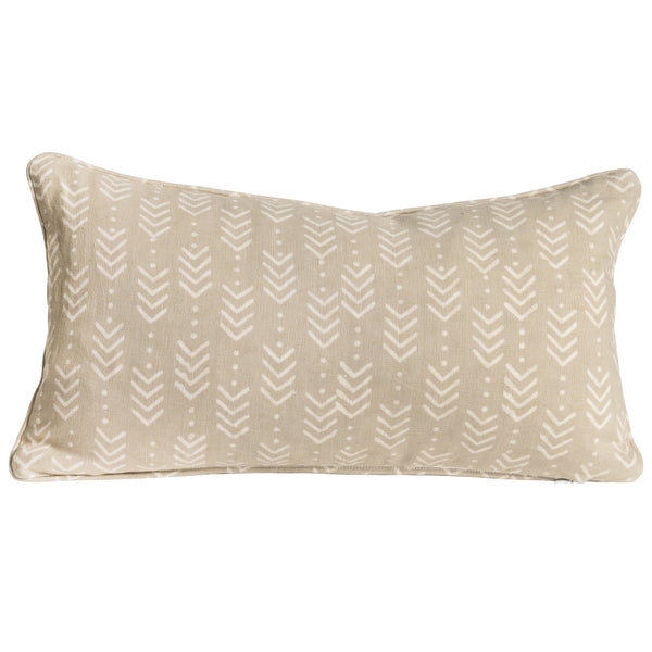 Jiva Natural Embroidered Cushion Cover - Nichola Taylorson