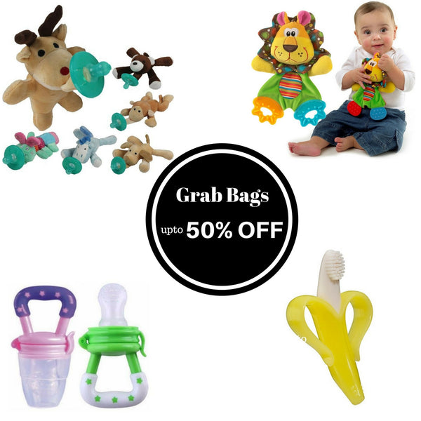 Grab Bags - Bestselling Teether Collection
