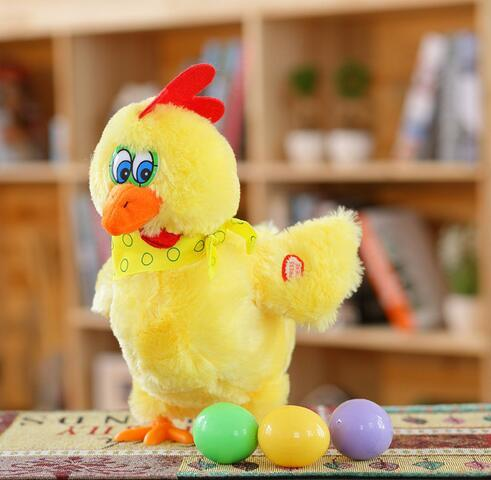 Electric Chicken Toy Laying Eggs