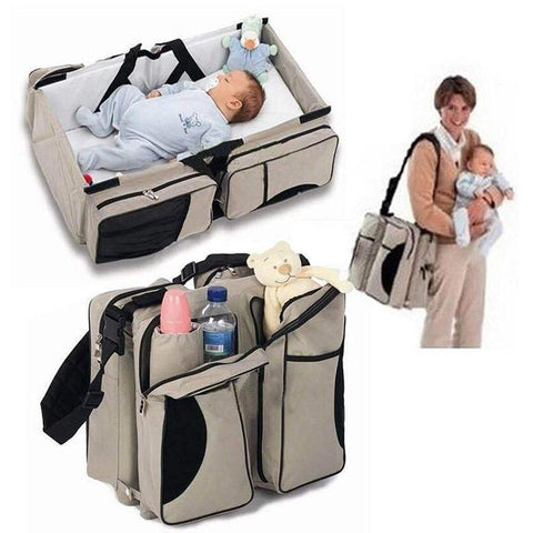 3 in 1 Portable Multi-functional Collapsible Newborn Crib/ Bag