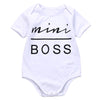 """Mini Boss"" Onesie - FREE"