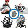 2 in 1 - Nursing Cover & Car Seat Cover