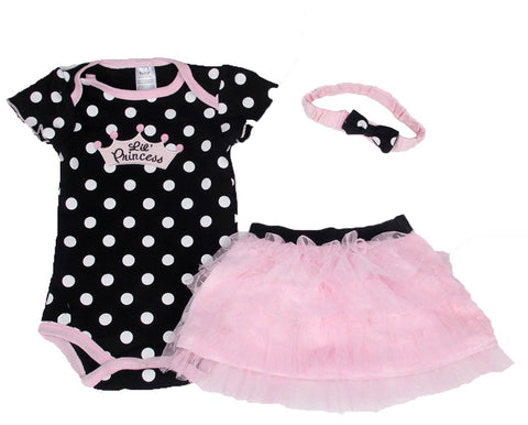 Lil Princess - 3 Piece Romper Set