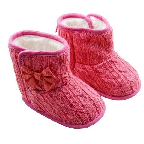 Knit Bowknot Boots Offer