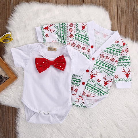 Snowflake Coat & Romper Set