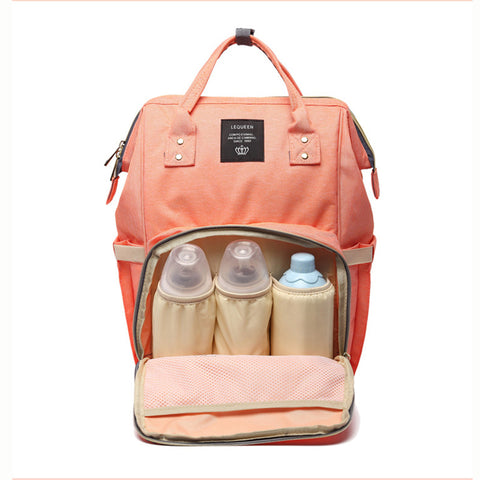 The Ultimate Diaper Bag & Backpack