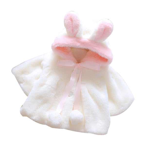 Rabbit Ears Fleece Coat