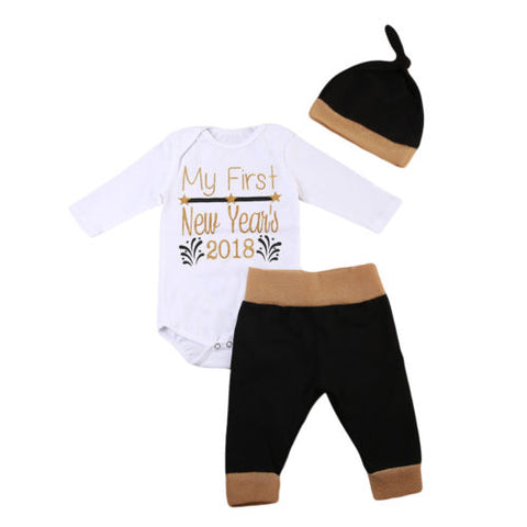 3 Piece New Year Pant Set