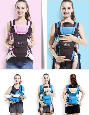 Ergonomic Baby Carrier 0-30 Months (4 Positions)