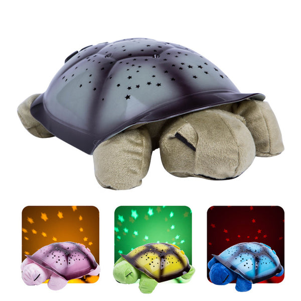 Turtle LED Nightlight Stars With Music