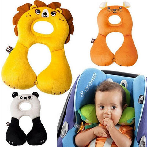 Baby Animal U-Shaped Headrest & Neck Pillow