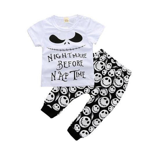 Nightmare Before Naptime Clothing Set