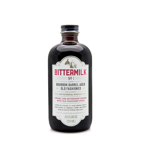 Bittermilk No 1 Bourbon Barrel Aged Old Fashioned