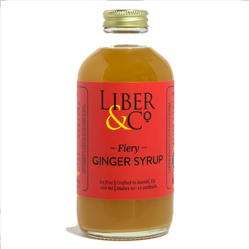 Liber & Co Fiery Ginger Syrup
