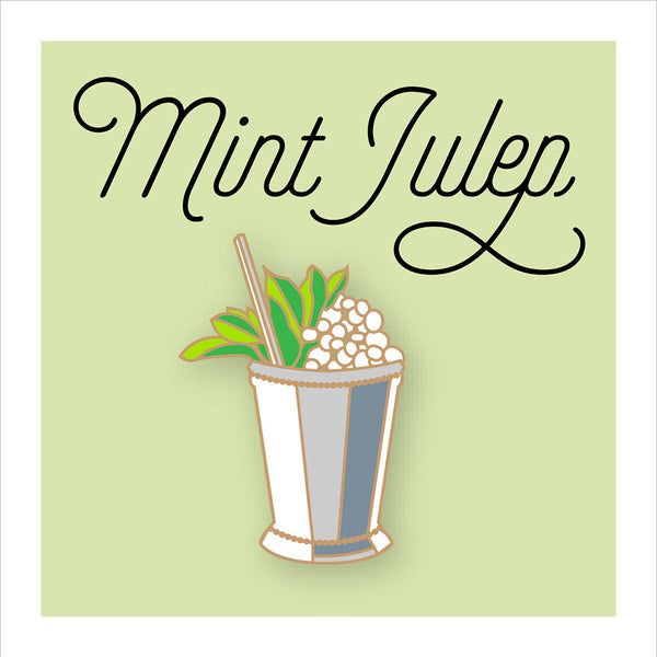 Mint Julep Pin