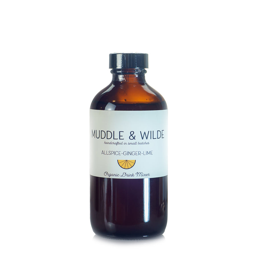 Muddle & Wilde Allspice-Ginger-Lime Drink Mixer