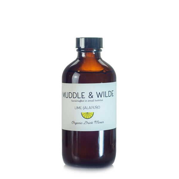 Muddle & Wilde Lime-Jalapeno Drink Mixer