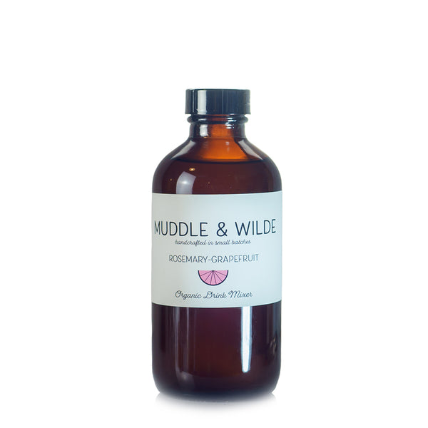 Muddle & Wilde Rosemary-Grapefruit Drink Mixer