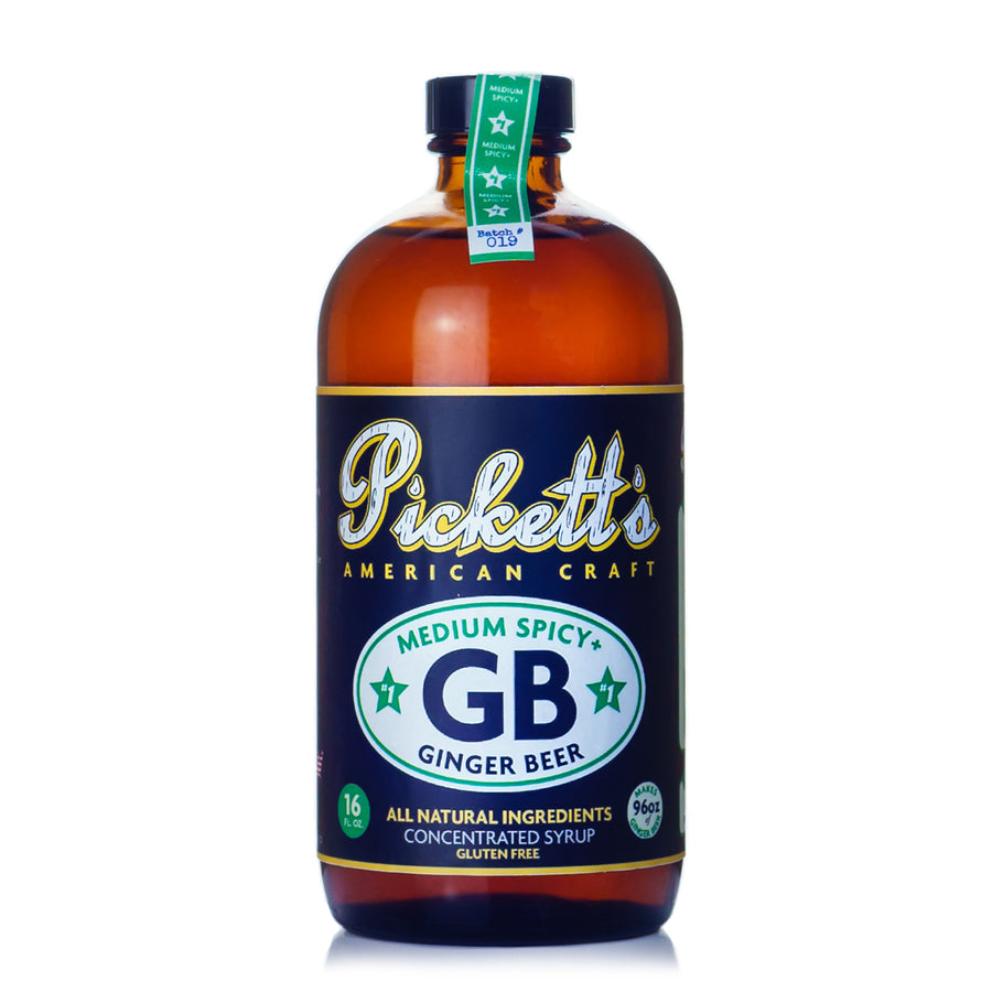 Pickett's #1 Medium Spicy Ginger Beer Syrup