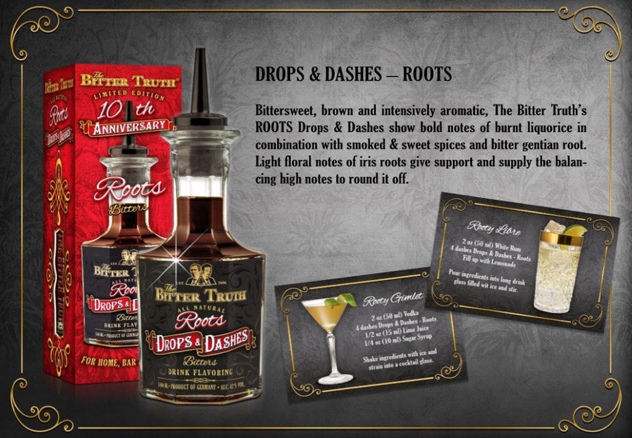 Bitter Truth 10th Anniversary Drops & Dashes Roots Bitters