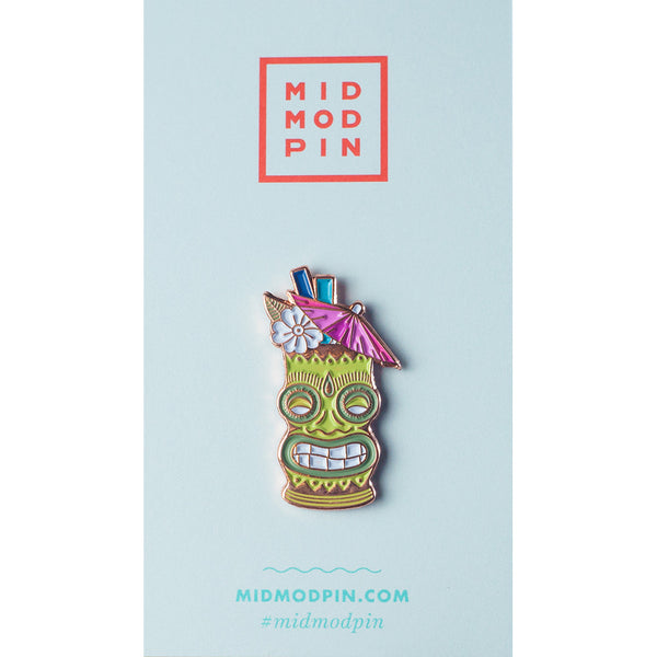 Tiki Time Pin