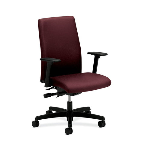 15 HON IGNITION WORK CHAIR WITH FABRIC BACK - HIWM3