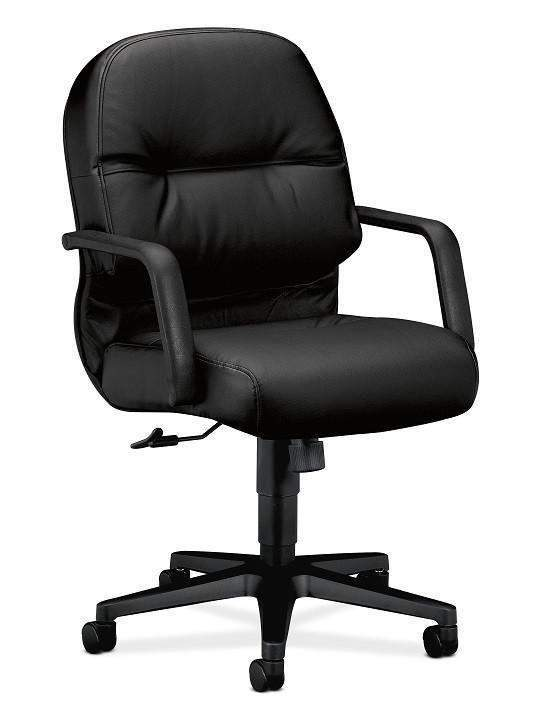 Hon H2092 Leather Pillow-Soft Conference Chair