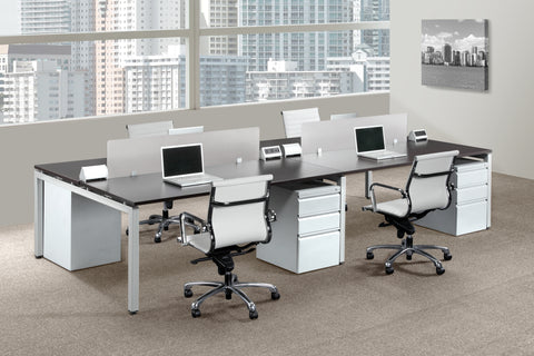 Pacific Quick Ship  Modular Benching & Desking System