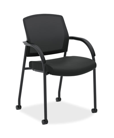 "Hon H2285.VA10.T ""Lota"" Multi-Purpose Chair, black frame, mesh, seat"