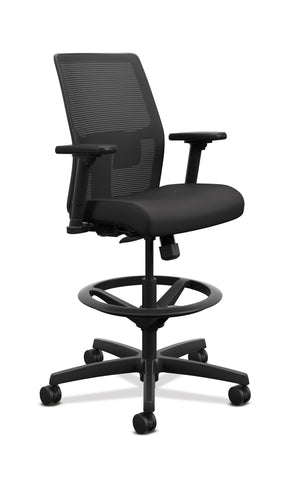 Hon HITSM.S1.A.H.IM.CU10.AL.SB.T Ignition 2.0 Task Stool with Arms
