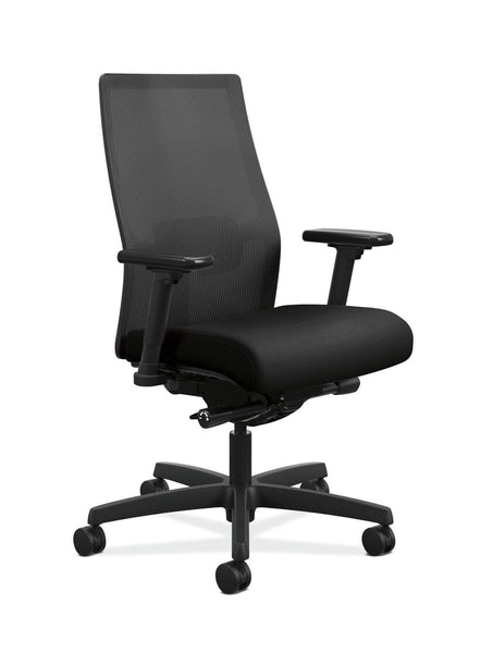 02 Hon HIWMM.Y3.A.H.IM.CU10.AL.SB.T Ignition 2.0 Work Chair with Mesh Back