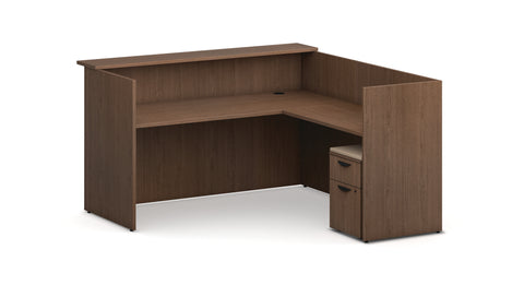 "HON ""MOD"" Reception Modular Desk - Quickship"