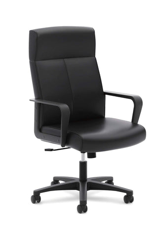 Basyx HVL604 Leather High Back Chair